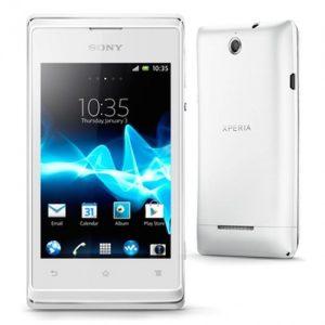 Sony Xperia E scherm reparatie
